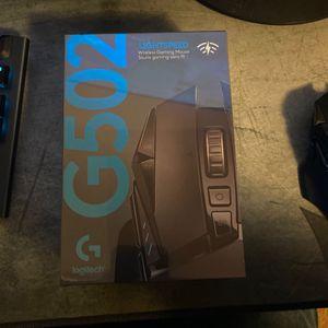Logitech G 502 Wireless Mouse for Sale in Lake Stevens, WA