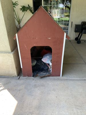 Large Wooden Dog House for Sale in Bakersfield, CA