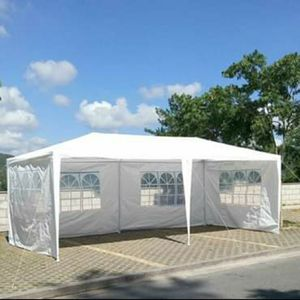 Outdoor 10'x20' Party Wedding Tent Gazebo Pavilion Cater Events 4 Sidewall Shelter Shade New for Sale in Forty Fort, PA