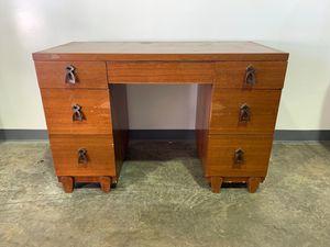 Mid-Century Keyhole Desk for Sale in Allentown, PA