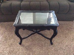 Antique black coffee table for Sale in Mountlake Terrace, WA