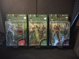 Quake 2 Figures (set of 3) for Sale in Sun City, AZ