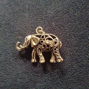 Silver Elephant necklace charm for Sale in Atlanta, GA