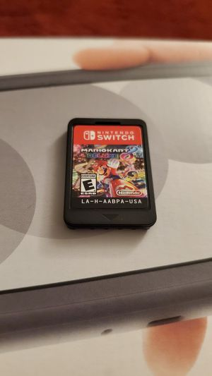 Nintendo Switc lite and Mario Kart 8 for Sale in Downey, CA