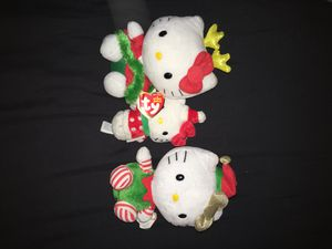 Xmas hello kitty plushies for Sale in Hanover, PA