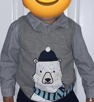 Baby boy clothes/shirt and vest for Sale in Fontana, CA