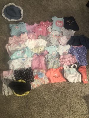0-3 month baby girl lot for Sale in Las Vegas, NV