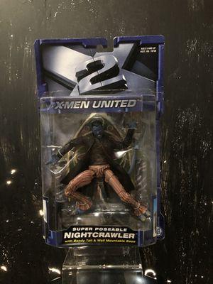 Toybiz X2: X-Men United Nightcrawler Action Figure for Sale in Perris, CA