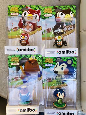 Animal Crossing Amiibo Lot - MINT for Sale in Germanton, NC