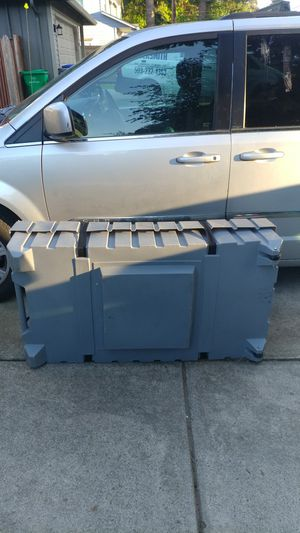 """Storage container with lid. L51""""xW27.5""""xH13"""" for Sale in Portland, OR"""