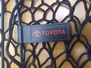 TOYOTA trunk hatch vertical envelope bungie CARGO NET oem original factory brand for Sale in Bellevue, WA