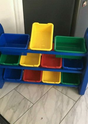 Kids Toy Storage 3 Tier organizer for Sale in West Covina, CA