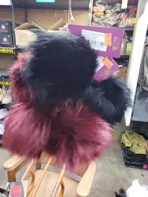 Furry fuzzy Keychain. Purple or black. for Sale in Downey, CA