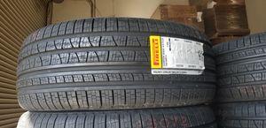 New 265/60/18 Pirelli Verde AS Plus CUV Tires 110H 65K Mile Warranty Set of 4 for Sale in Jurupa Valley, CA