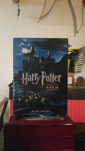 Harry Potter Complete 8 Film Set for Sale in Anaheim, CA