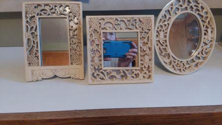 Roman 3 mirror frames and windowed cazebo for Sale in North Tonawanda,  NY
