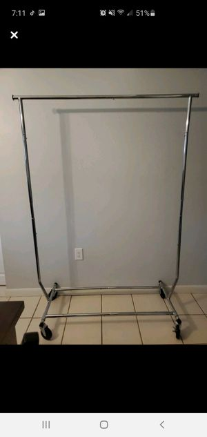 Clothes metal rack for Sale in Fort Myers, FL