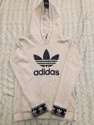 RARE Grey Adidas hoodie for Sale in Beaverton, OR