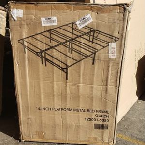 Twin Metal Frame With Deluxe Mattress Starting At 125*| All Sizes Available ** for Sale in Los Angeles, CA
