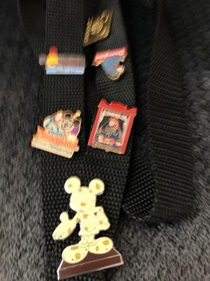 Lanyard with6 Walt Disney pins $15 or best offer for Sale in Hesperia, CA