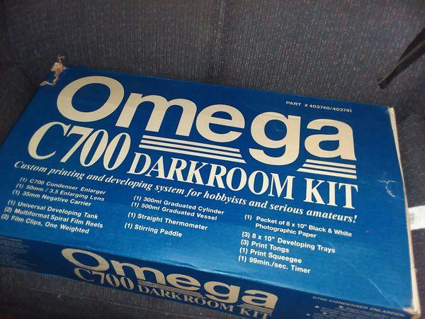 Omega c700 darkroom 21pc  Setup kit for photo developing & printing for  Sale in Roanoke, VA - OfferUp