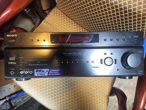 Sony stereo receiver str-DE598 for Sale in Marietta, GA