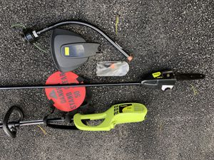 Pole saw with trimmer (electric) for Sale in Silver Spring, MD