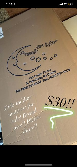 Brand new crib/toddler mattress for Sale in Port Allen, LA