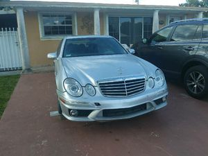 Mercedes Benz E63 2007 6.2 for parts!!! for Sale in Hialeah, FL