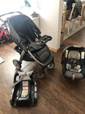 Graco keyfit 30 trio car seat/stroller and base for Sale in Portland, OR