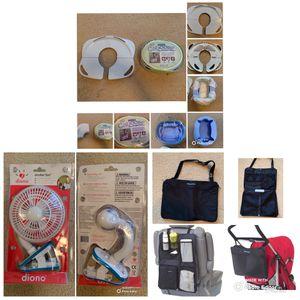 Travel Toddler (stroller fan, travel potty & seat, car organizer/tote) for Sale in Suffolk, VA
