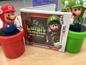 Luigi's mansion 3DS for Sale in Phoenix, AZ