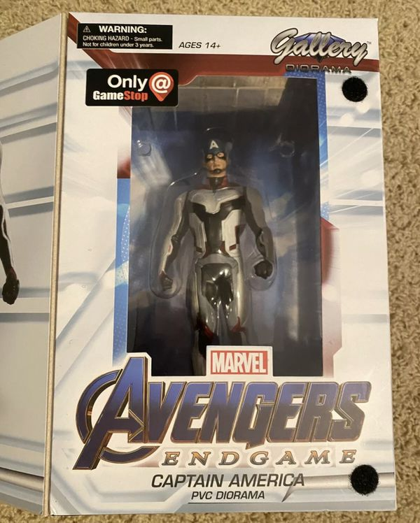 Avengers Endgame Gallery CAPTAIN AMERICA Figure Statue Diorama NEW Marvel
