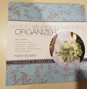 Wedding binder organizer for Sale in Wheat Ridge, CO