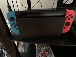 Nintendo Switch w/ Mario party & overcooked 2 for Sale in Chicago, IL