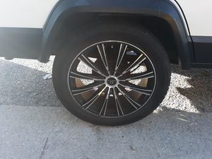 5x114.3 20 inch rims and tires $350 for Sale in Petersburg, VA
