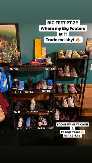 Size 5Y-14 Yeezys Foams Jordan's Supreme Bape Adidas Hype Human Race Ultraboost Flyknit Sbs for Sale in Manassas, VA