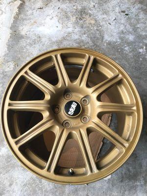 Set of 4 BBS gold WRX rims $600 for Sale in Bonney Lake, WA