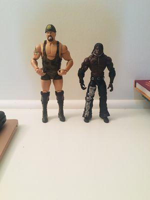 WWE action figures elite : Big Show vs R-Truth for Sale in San Diego, CA