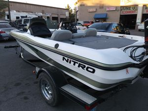 2003 NITRO BASS BOAT 17.50F for Sale in Las Vegas, NV