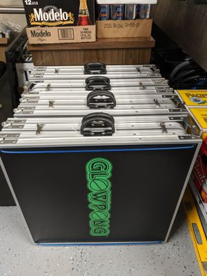 GlowPong Light Up Beer Pong Tables for Sale in Port Orchard, WA