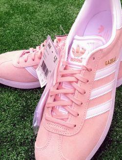 New Adidas Originals Vapor Pink Gazelle Men's 9.5 Shoes for Sale in Las Vegas,  NV