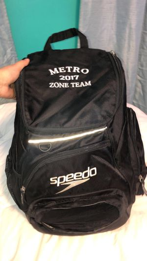 Black Speedo Teamster Backpack for Sale in Staten Island, NY