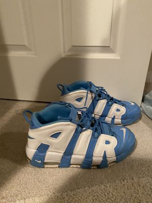 """Nike Uptempos """"University blue"""" for Sale in Gaithersburg, MD"""
