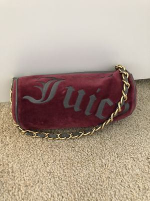 100% Authentic Juicy Couture Velour Roll Bag for Sale in Tustin, CA