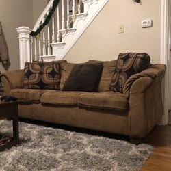 Brown Sued Sofa for Sale in Pittsburgh,  PA