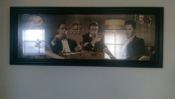 FOUR OF A KIND Legends glass framed