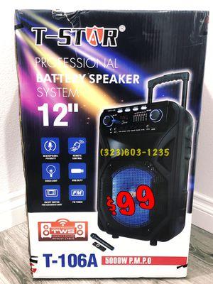 💥 Mucho Party 💥5,000 Watts* Con 🎤 Para Karaoke • Bluetooth • Bocina De 12 Pulgadas • Nuevesita for Sale in Long Beach, CA