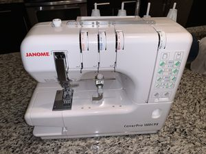 Janome CPX1000 Coverstitch for Sale in Lenexa, KS