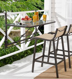 New!! Outdoor 3 pc balcony set, outdoor set, balcony set, 3 pc balcony set, conversation set, snack dinning outdoor balcony set for Sale in Phoenix, AZ